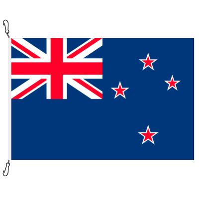 Fahne, Nation bedruckt, Neuseeland, 70 x 100 cm