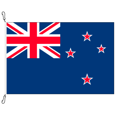 Fahne, Nation bedruckt, Neuseeland, 150 x 225 cm