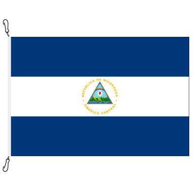 Fahne, Nation bedruckt, Nicaragua, 200 x 300 cm