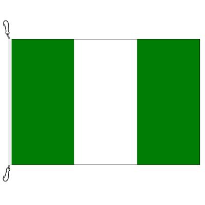 Fahne, Nation bedruckt, Nigeria, 70 x 100 cm