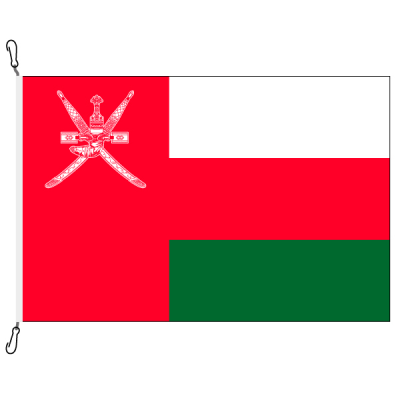 Fahne, Nation bedruckt, Oman, 100 x 150 cm