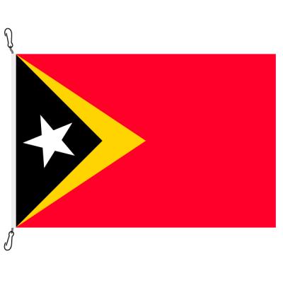 Fahne, Nation bedruckt, Osttimor, 70 x 100 cm