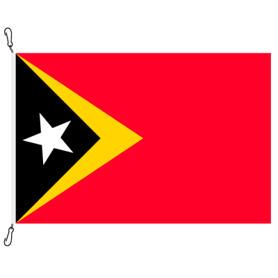 Fahne, Nation bedruckt, Osttimor, 200 x 300 cm