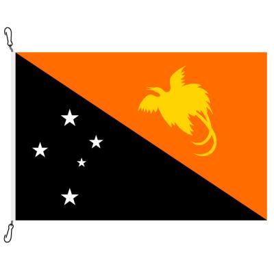 Fahne, Nation bedruckt, Papua-Neuguinea, 100 x 150 cm