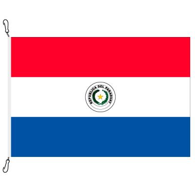 Fahne, Nation bedruckt, Paraguay, 100 x 150 cm