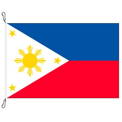 Fahne, Nation bedruckt, Philippinen, 70 x 100 cm
