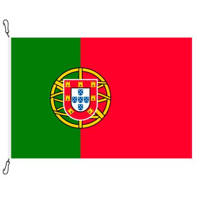 Fahne, Nation bedruckt, Portugal, 70 x 100 cm