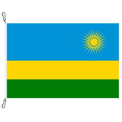 Fahne, Nation bedruckt, Ruanda, 200 x 300 cm