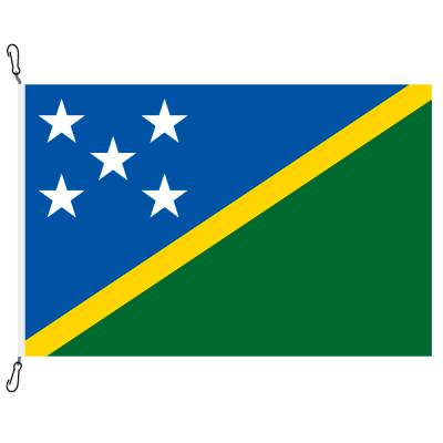 Fahne, Nation bedruckt, Salomonen, 100 x 150 cm