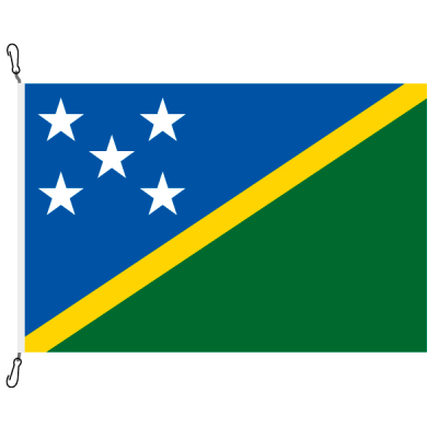 Fahne, Nation bedruckt, Salomonen, 150 x 225 cm