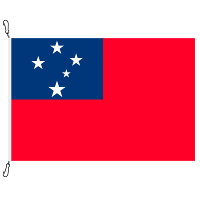 Fahne, Nation bedruckt, Samoa, 70 x 100 cm