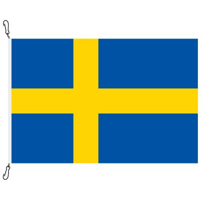 Fahne, Nation bedruckt, Schweden, 100 x 150 cm