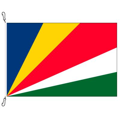 Fahne, Nation bedruckt, Seychellen, 70 x 100 cm