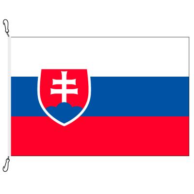 Fahne, Nation bedruckt, Slowakei, 200 x 300 cm
