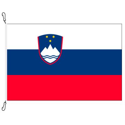 Fahne, Nation bedruckt, Slowenien, 70 x 100 cm