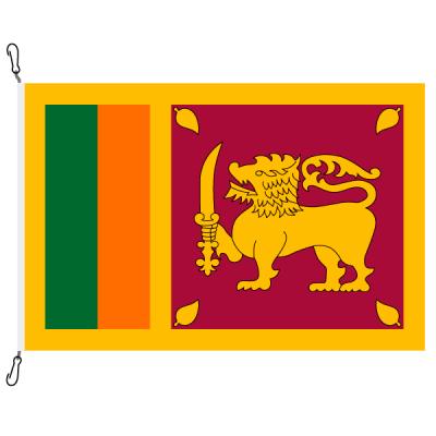 Fahne, Nation bedruckt, Sri Lanka, 70 x 100 cm