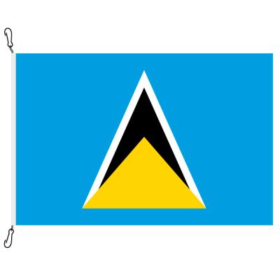 Fahne, Nation bedruckt, St. Lucia, 200 x 300 cm
