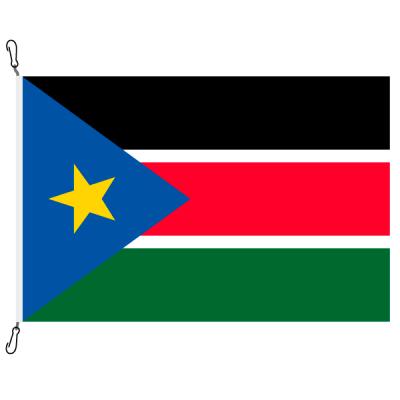 Fahne, Nation bedruckt, Südsudan, 150 x 225 cm