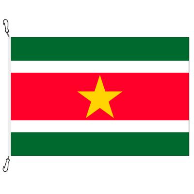 Fahne, Nation bedruckt, Suriname, 70 x 100 cm