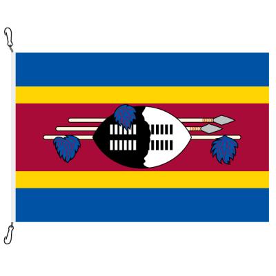 Fahne, Nation bedruckt, eSwatini, 70 x 100 cm
