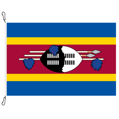 Fahne, Nation bedruckt, eSwatini, 200 x 300 cm