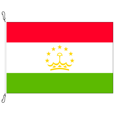 Fahne, Nation bedruckt, Tadschikistan, 150 x 225 cm