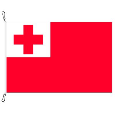 Fahne, Nation bedruckt, Tonga, 70 x 100 cm