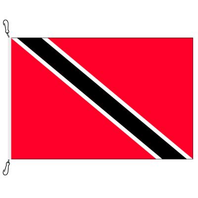 Fahne, Nation bedruckt, Trinidad und Tobago, 200 x 300 cm
