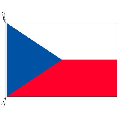 Fahne, Nation bedruckt, Tschechien, 70 x 100 cm