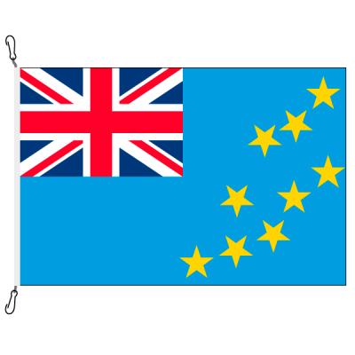 Fahne, Nation bedruckt, Tuvalu, 70 x 100 cm