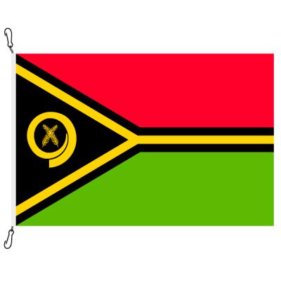 Fahne, Nation bedruckt, Vanuatu, 150 x 225 cm
