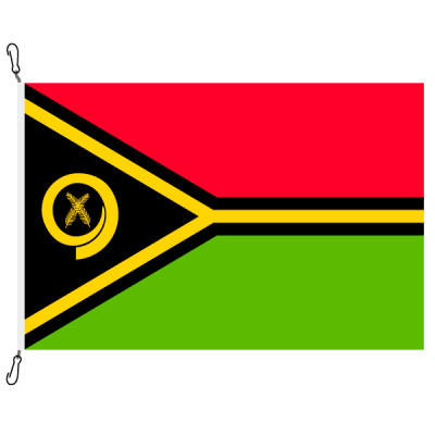 Fahne, Nation bedruckt, Vanuatu, 200 x 300 cm
