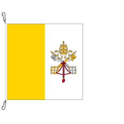 Fahne, Nation bedruckt, Vatikan, 120 x 120 cm
