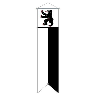Flagge, Kanton bedruckt Appenzell AI, 100 x 400 cm,