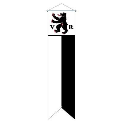 Flagge, Kanton bedruckt Appenzell AR, 78 x 300 cm,