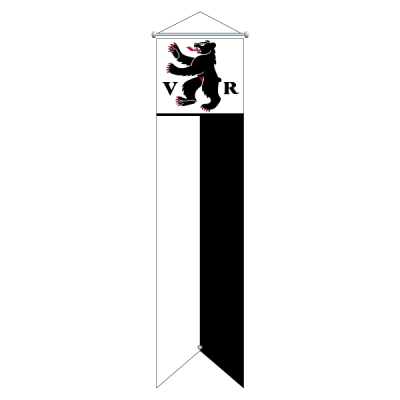 Flagge, Kanton bedruckt Appenzell AR, 78 x 400 cm,