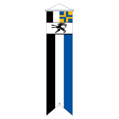 Flagge, Kanton bedruckt Graubünden, 100 x 400 cm,