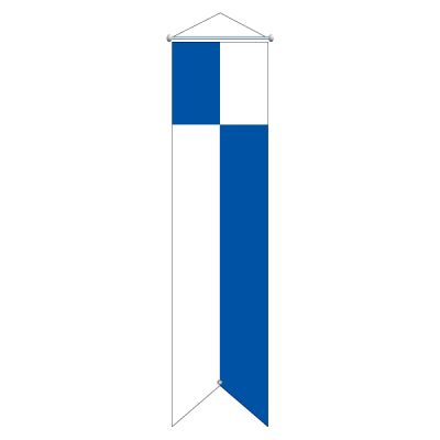 Flagge, Kanton bedruckt Luzern, 120 x 400 cm,