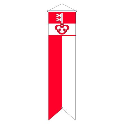 Flagge, Kanton bedruckt Obwalden, 100 x 300 cm,