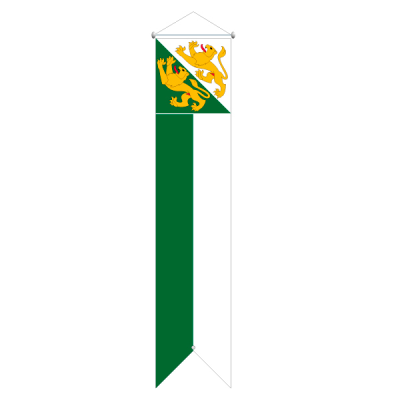 Flagge, Kanton bedruckt Thurgau, 78 x 500 cm,