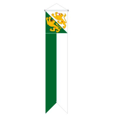 Flagge, Kanton bedruckt Thurgau, 120 x 700 cm,