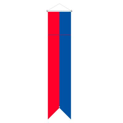 Flagge, Kanton bedruckt Tessin, 78 x 400 cm,