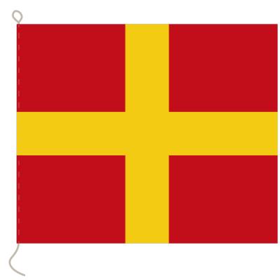 Flagge, Signal bedruckt R, 20 x 24 cm