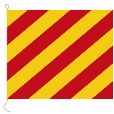 Flagge, Signal bedruckt Y, 20 x 24 cm