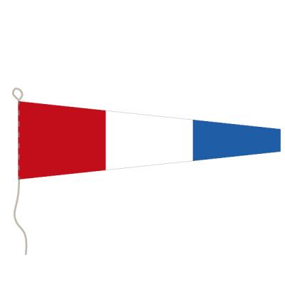 Flagge, Signal bedruckt Nr. 3, 20 x 24 cm