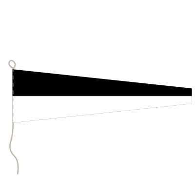 Flagge, Signal bedruckt Nr. 6, 30 x 36 cm