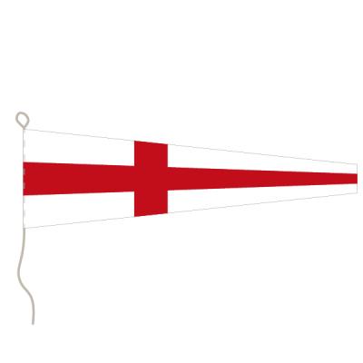 Flagge, Signal bedruckt Nr. 8, 20 x 24 cm