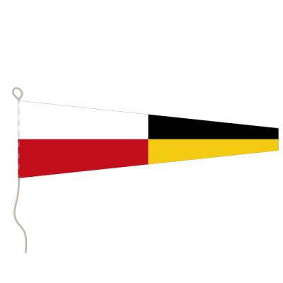 Flagge, Signal bedruckt Nr. 9, 20 x 24 cm