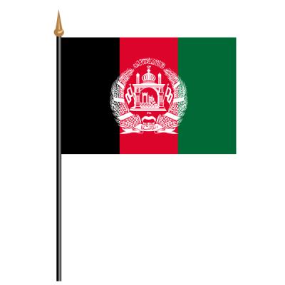 Tischfähnli, an PVC-Stab Afghanistan, 10 x 15 cm