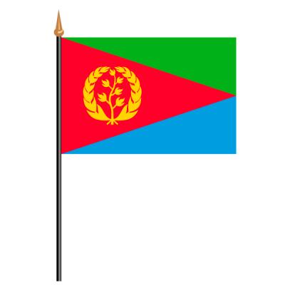Tischfähnli, an PVC-Stab Eritrea, 10 x 15 cm